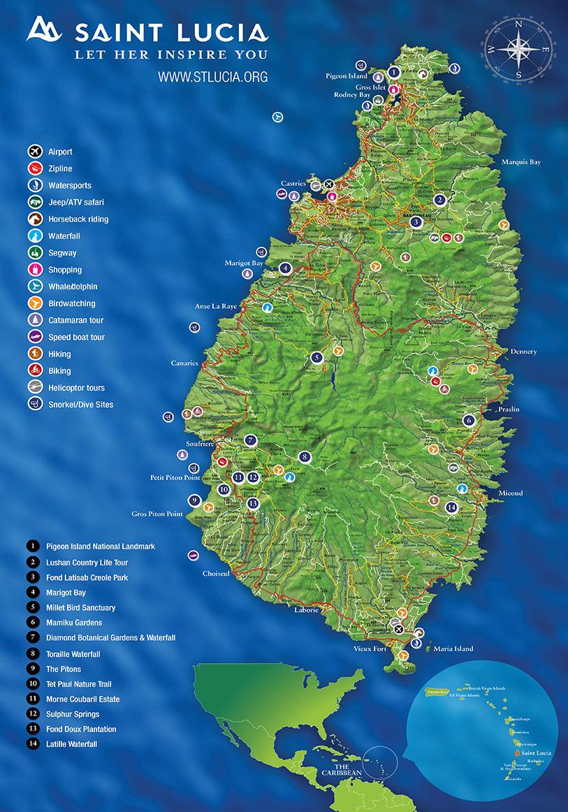 Saint Lucia Activities